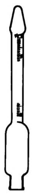 Butyrometr Kohler-Funke – smetana,5 ml