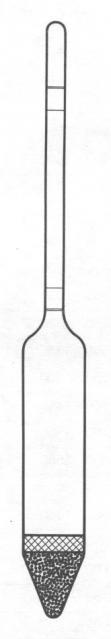 Provozní hustoměry – II. c) - bez teploměru