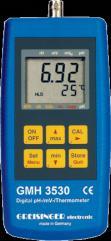 Kapesní pH metr/REDOX/teploměr Greisinger GMH 3531